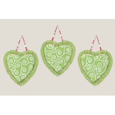 Olivia Wall Hanging Art (Set of 3)