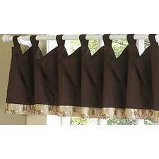 Abby Rose Tab Top Tailored Curtain Valance