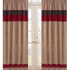 <strong>Sweet Jojo Designs</strong> All Star Sports Curtain Panel (Set of 2)