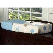 <strong>Sweet Jojo Designs</strong> Mod Dots Blue Collection Changing Pad Cover