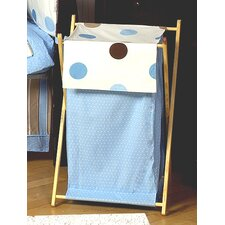 <strong>Sweet Jojo Designs</strong> Mod Dots Blue Laundry Hamper