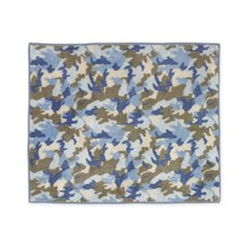 Camo Blue Collection Floor Rug