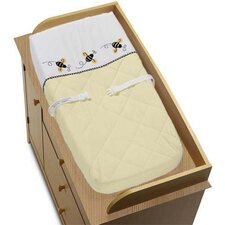 <strong>Sweet Jojo Designs</strong> Bumble Bee Collection Changing Pad Cover