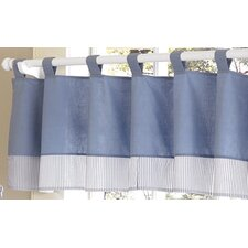 Come Sail Away Cotton Curtain Valance