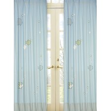 <strong>Sweet Jojo Designs</strong> Go Fish Curtain Panel (Set of 2)