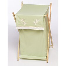 <strong>Sweet Jojo Designs</strong> Green Dragonfly Dreams Laundry Hamper