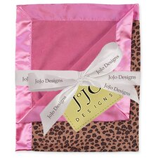 <strong>Sweet Jojo Designs</strong> Cheetah Pink Collection Baby Blanket