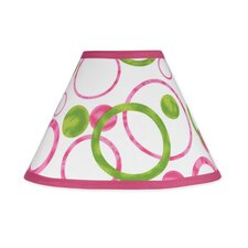 "10"" Circles Pink Lamp Shade"