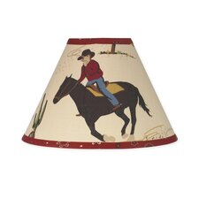 "10"" Wild West Cowboy Lamp Shade"