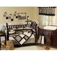 Animal Safari 9 Piece Crib Bedding Collection