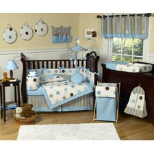 Mod Dots 9 Piece Crib Bedding Collection