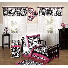Funky Zebra Toddler Bedding Collection 5 Piece Set
