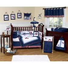 Vintage Aviator Crib Bedding Collection