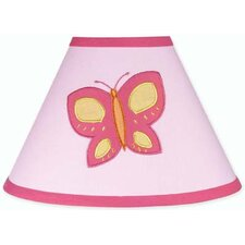 <strong>Sweet Jojo Designs</strong> Butterfly Pink and Orange Collection Lamp Shade