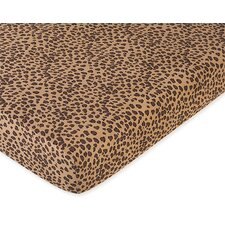 <strong>Sweet Jojo Designs</strong> Cheetah Fitted Crib Sheet