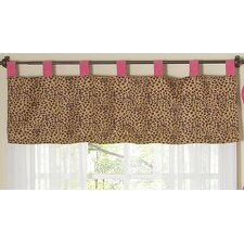 "Cheetah Pink 84"" Curtain Valance"