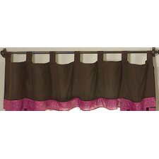 <strong>Sweet Jojo Designs</strong> Cowgirl Cotton Tab Top Curtain Valance