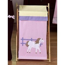 <strong>Sweet Jojo Designs</strong> Pony Laundry Hamper