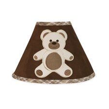 <strong>Sweet Jojo Designs</strong> Teddy Bear Chocolate Collection Lamp Shade