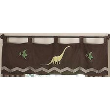 <strong>Sweet Jojo Designs</strong> Dinosaur Land Curtain Valance