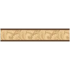 <strong>Sweet Jojo Designs</strong> Camel Paisley Wallpaper Border