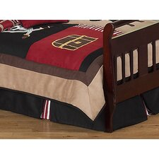 Pirate Treasure Cove Toddler Bed Skirt