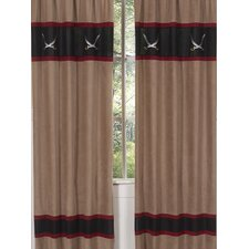 Pirate Treasure Cove Curtain Panel (Set of 2)