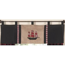 <strong>Sweet Jojo Designs</strong> Pirate Treasure Cove Curtain Valance