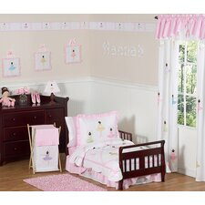 <strong>Sweet Jojo Designs</strong> Ballerina 5 Piece Toddler Bedding Collection