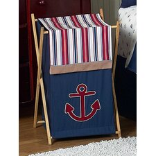 <strong>Sweet Jojo Designs</strong> Nautical Nights Laundry Hamper