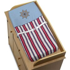 <strong>Sweet Jojo Designs</strong> Nautical Nights Collection Changing Pad Cover