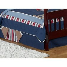 <strong>Sweet Jojo Designs</strong> Nautical Nights Collection Toddler Bed Skirt
