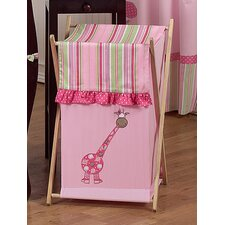 <strong>Sweet Jojo Designs</strong> Jungle Friends Laundry Hamper