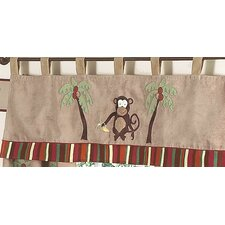 Monkey Curtain Valance