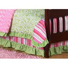 <strong>Sweet Jojo Designs</strong> Olivia Collection Toddler Bed Skirt