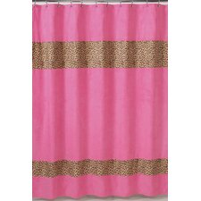 Cheetah Microsuede Shower Curtain