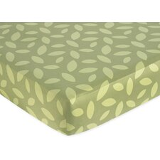 <strong>Sweet Jojo Designs</strong> Jungle Time Fitted Crib Sheet