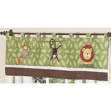 "Jungle Time 54"" Curtain Valance"