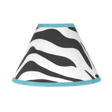 <strong>Sweet Jojo Designs</strong> Zebra Turquoise Collection Lamp Shade