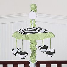 <strong>Sweet Jojo Designs</strong> Zebra Lime Collection Musical Mobile