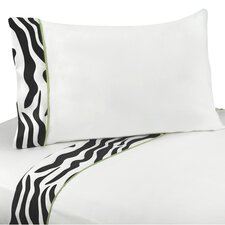 <strong>Sweet Jojo Designs</strong> Zebra Sheet Set