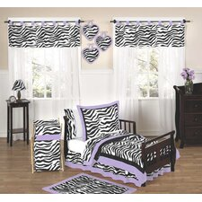 <strong>Sweet Jojo Designs</strong> Purple Funky Zebra Toddler Bedding Collection