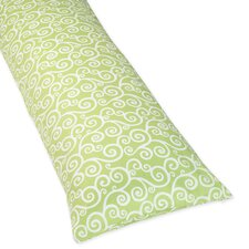 Olivia Collection Body Pillow Case  - Scroll Print