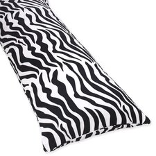 <strong>Sweet Jojo Designs</strong> Zebra Pink Collection Body Pillow Case