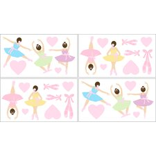 <strong>Sweet Jojo Designs</strong> Ballerina Wall Decal