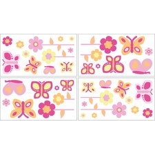 Butterfly Wall Decal 4 piece set