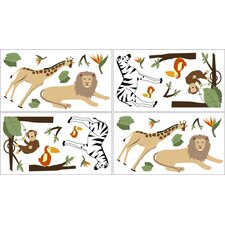 Jungle Adventure Collection Wall Decal Stickers