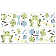 Leap Frog Wall Decal 4 piece set
