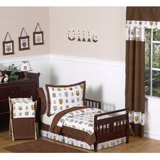 Night Owl Collection 5pc Toddler Bedding Set