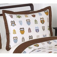 <strong>Sweet Jojo Designs</strong> Night Owl Collection Pillow Sham